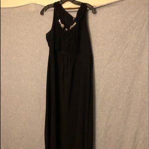 NY Collection black sleeveless dress!